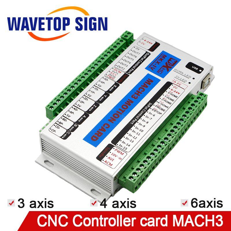 Mach 3 CNC Control Karte 3 achsen 4 achsen 6 achsen XHC MK4 CNC Mach3 USB Port Unterstützung Fenster 7 systerm