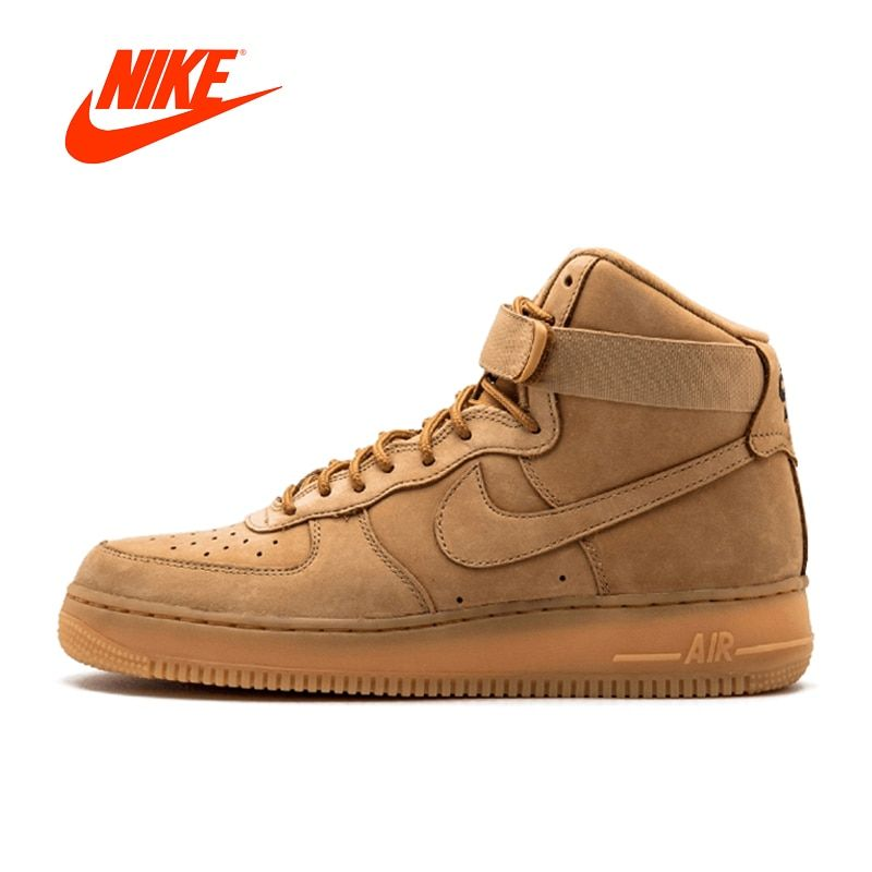 Original New Arrival Authentic Nike Air Force 1 Mens Skateboarding Shoes Sneakers Comfortable Breathable 882096-200