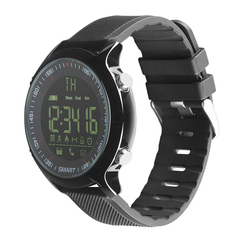 2018 New EX18 Diving 50M Waterproof Smart Watch Pedometer Clock Fitness Bluetooth Phone Message Push Sports Healthy SmartWatch