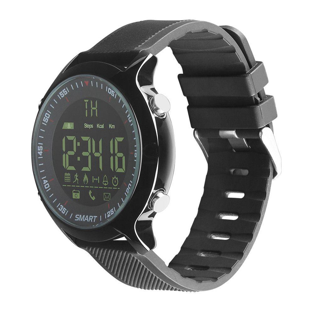 2018 New EX18 Waterproof Smart Watch Pedometer Clock Fitness Bluetooth Phone Message Push Sports Healthy SmartWatch