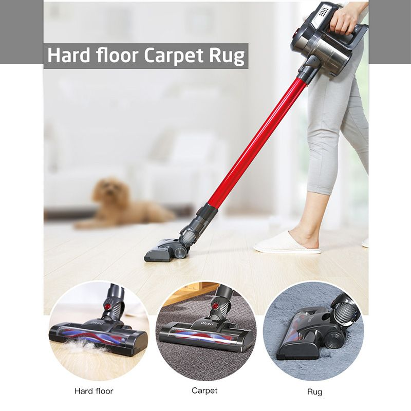 Dibea Cordless Stick Handheld Vacuum Cleaner Dust Collector Aspirator Docking Station Portable Sweeper Wireless Cleaner for Home