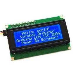 IIC/I2C + LCD Board 2004 20*4 LCD 20X4 5V Blue screen LCD2004 display LCD module LCD 2004 for arduino