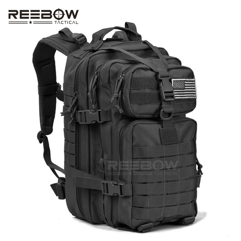 34L Military Tactical Assault Pack Backpack Army Molle Waterproof Bug Out Bag Small Rucksack for Outdoor Hiking <font><b>Camping</b></font> Hunting