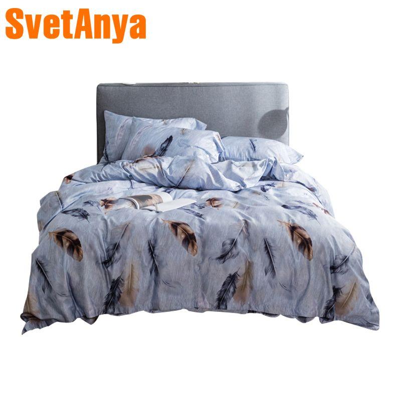 100% egypt Cotton Bedlinen Luxury bedclothes King Queen double size bedcover Doona duvet cover sheet pillowcase 4pc bedding set