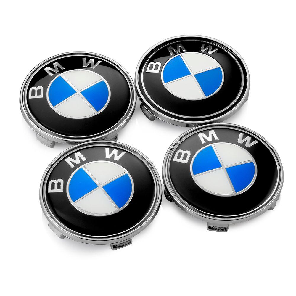 4PCS BMW Wheel Center Hub Caps 68mm 5 Pin BMW Logo Emblem Badge BMW 1 3 6 5 7 8 Z3 Z4 Z7 M3 M5 X1 X3 X5 E46 E39 E38 Accessories