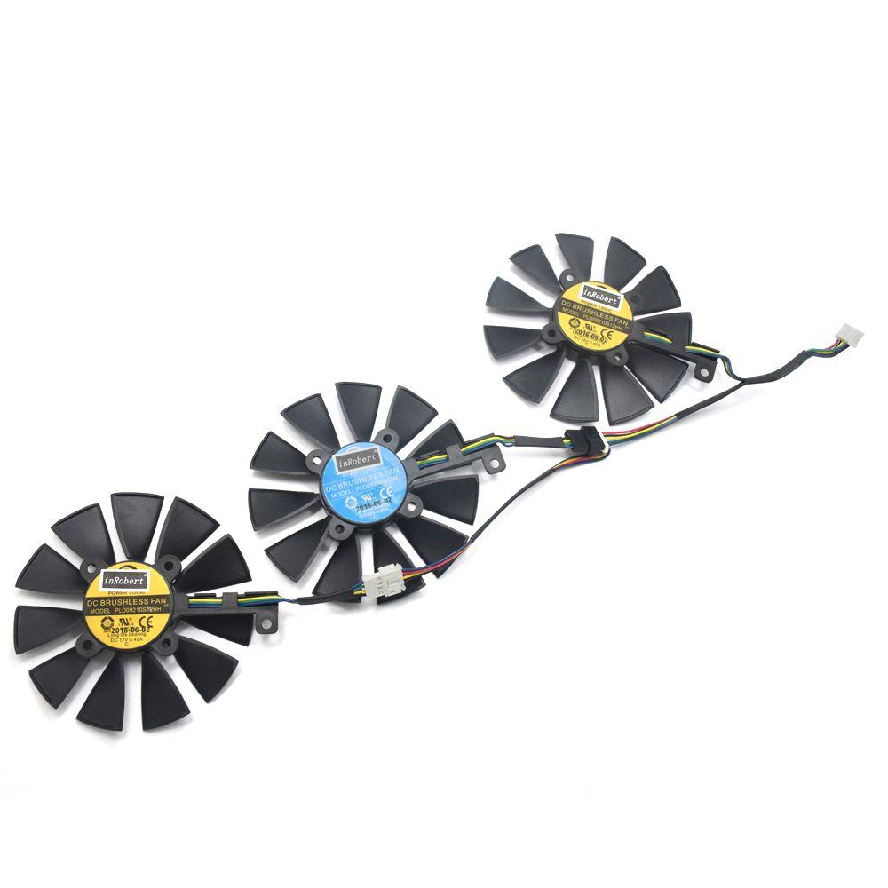 87MM PLD09210S12M PLD09210S12HH Cooler Fan For ASUS Strix GTX980TI GTX 1080TI 1070TI RX 390X 580 VEGA64 VEGA56 Graphics Card