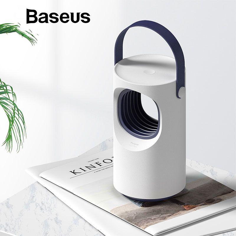 Baseus USB Licht Moskito-kontrolle Lampe Falle LED Elektrische Falle Lampe Im Freien UV Licht Tötung Lampe Für Moskito Stuben Insekt
