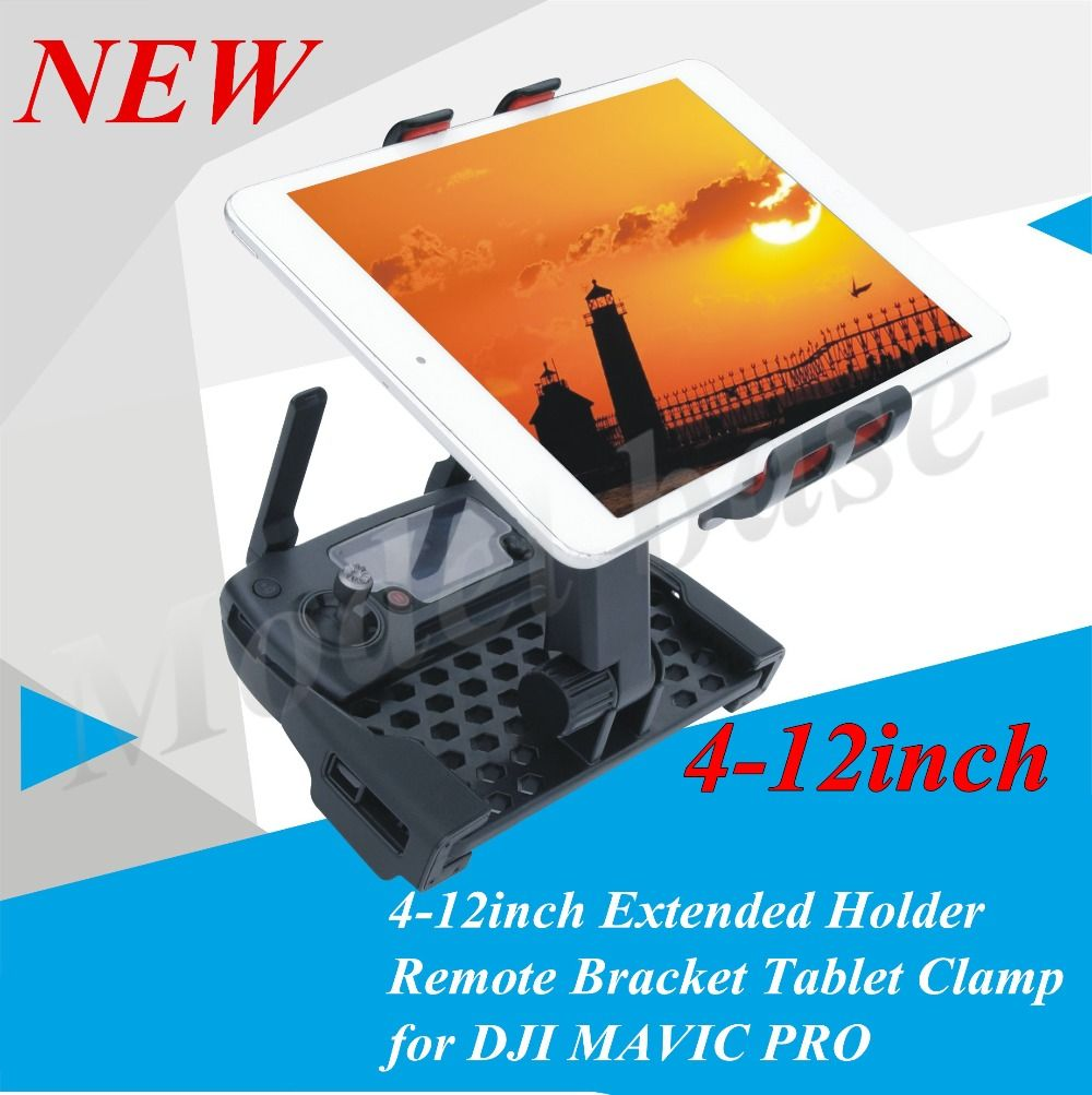 4~12inch Extended Holder Remote Bracket Tablet Clamp for DJI Mavic Pro accessories