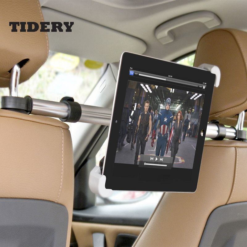 Holder For Tablet PC Auto Car Back <font><b>Seat</b></font> Headrest Mounting Holder Tablet Universal For 7-10 Inch For Ipad Xiaomi Samsung TIDERY