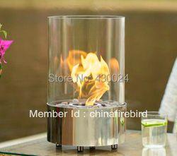 Bio cheminée éthanol FD40 + acier inoxydable + table top modèle