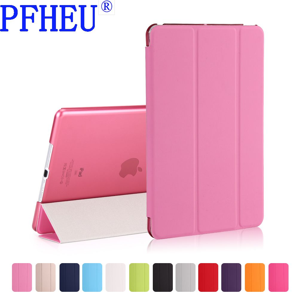 For Apple New iPad 9.7inch 2017 & 2018 Sleeping Wakup Ultral Slim Leather Smart Cover Case for iPad A1822 A1823 A1893 A1954