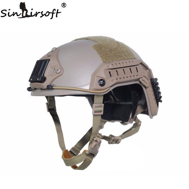 Sinairsoft Новый FMA морской тактический шлем ABS de/BK/FG для страйкбола Пейнтбол airsoft шлем