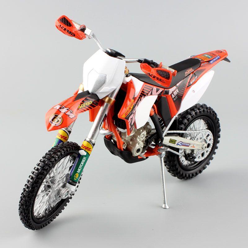 1 12 scale Automaxx mini KTM 350 EXC-F AMV DHL Motorcycle Diecast Model Motocross enduro motor dirt bike toys vehicle car kid's