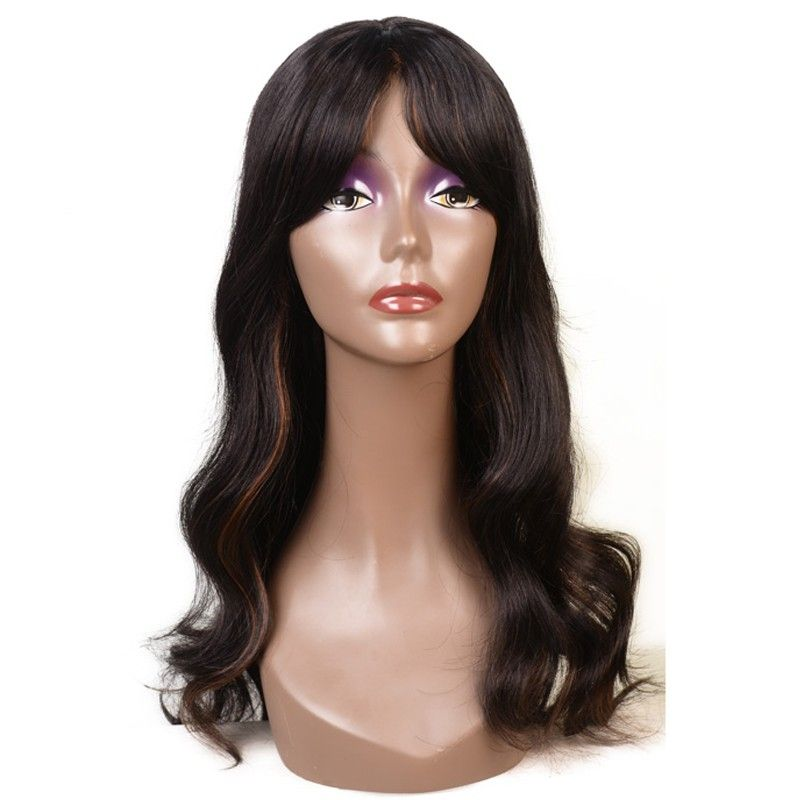 Feibin Боб Искусственные парики с Синтетические чёлки волос для Для женщин синтетические термостойкие Волокно Бесплатная доставка