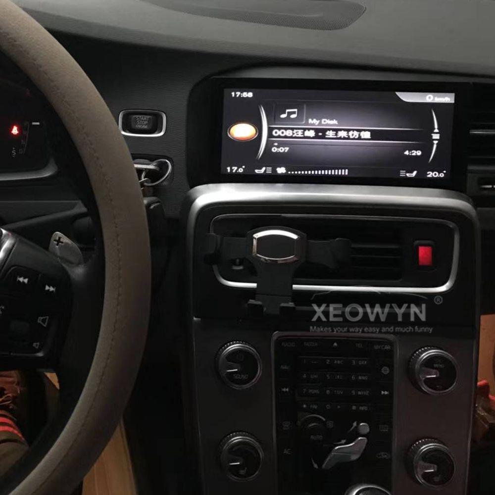 8,8 zoll RAM2GROM32G Android 7.0 PX3 Auto Radio gps Für Volvo S60 V60 2011-2017 Unterstützung reise informaiton full touch