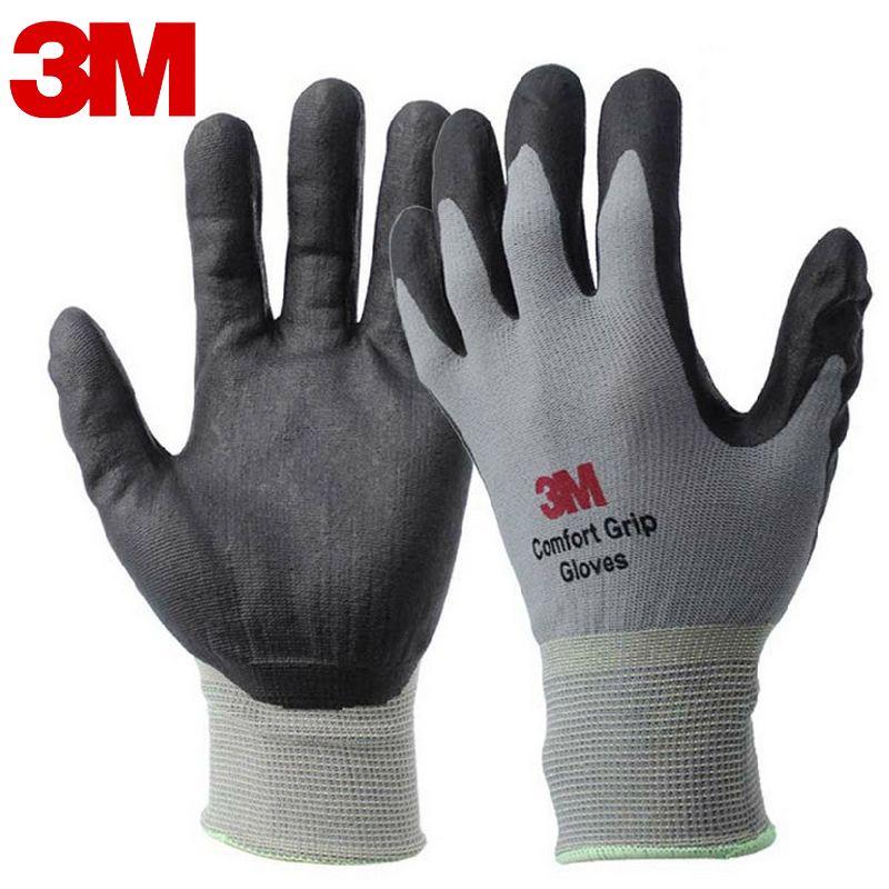 3 м работы Прихватки для мангала удобство захвата износостойкие Нескользящие Прихватки для мангала анти-трудовые Защитные перчатки нитрил ...