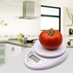 5000g/1g 5 kg LED Électronique Échelle de Régime de Nourriture Balance de Cuisine Numérique Balances Postales Cuisson Outils Cuisine échelles, Balance électronique