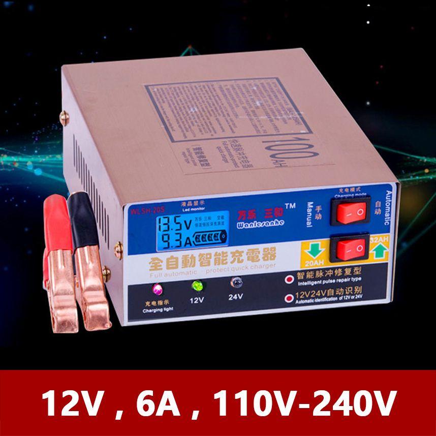 12 V 10A 24 V 100AH Batterie Ladegerät für Elektrische Auto Motorrad Dreirad 60AH 80AH 120AH Blei Säure AGM GEL versiegelt Wartung Freies