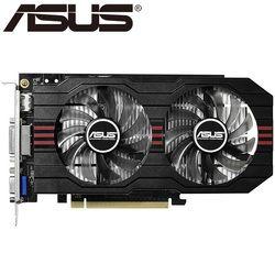 ASUS видео Графика карты оригинальный GTX 750 2 ГБ 128bit GDDR5 видео карты для NVIDIA видеокартами GeForce GTX750 HDMI dvi используются на продажу