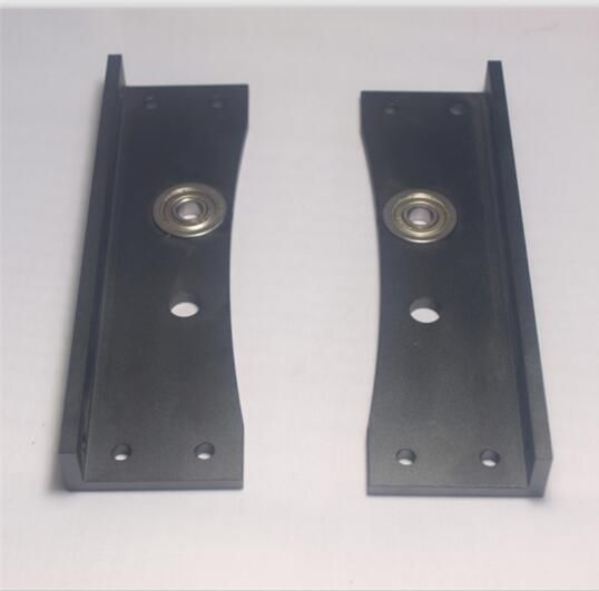 Lulzbot TAZ5 3D printer upgrade metal aluminum alloy frame top corners kit including left corner and right corner set