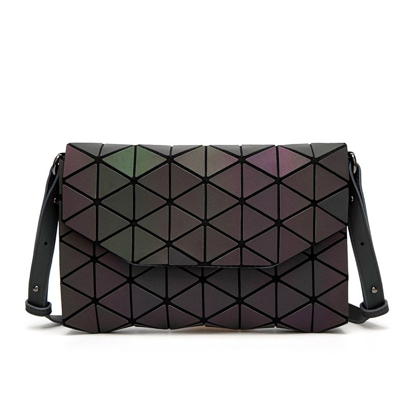 Fashion Geometric BaoBao Casual Clutch Messenger Bags Luminous Designer Women Evening Bag Shoulder Bags Girls Flap Handbag