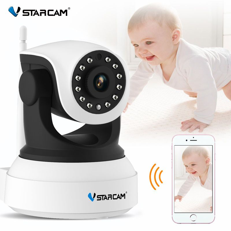 Vstarcam C7824WIP Baby Monitor wifi 2 way audio smart camera with <font><b>motion</b></font> detection Security IP Camera Wireless