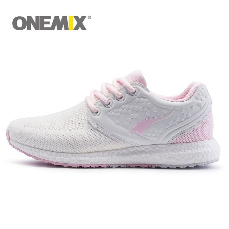Onemix women air mesh running shoes for women brand breathable knitting walking sneakers athletic outdoor sports Training shoes