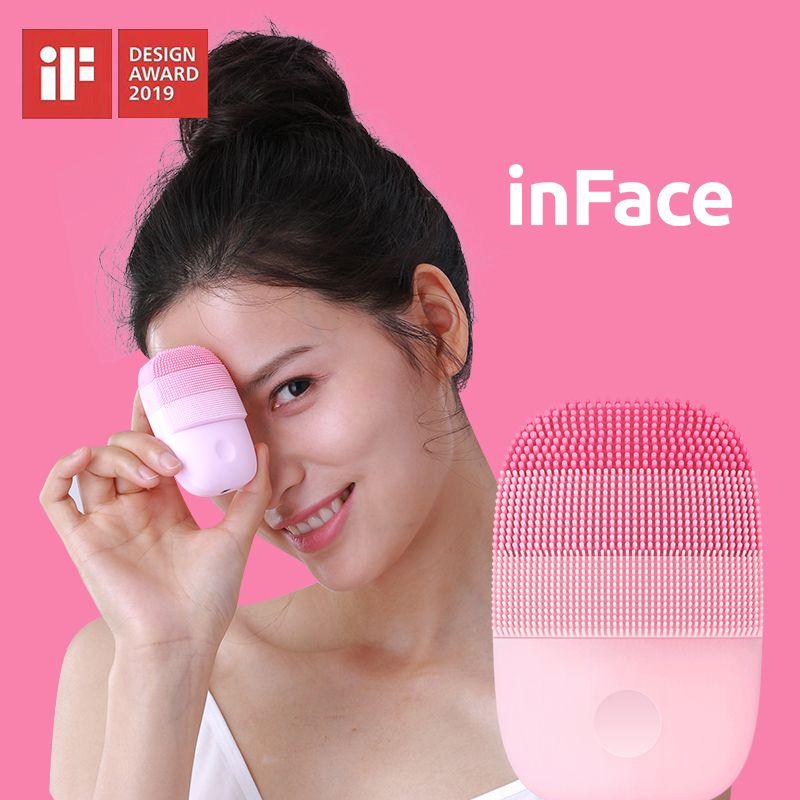 Xiaomi Mijia inFace petit Instrument de nettoyage en profondeur nettoyer sonique beauté Instrument Facial nettoyage visage soins de la peau masseur