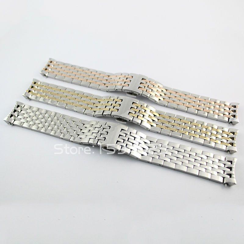 20mm T063617 T063639 nouvelle montre pièces mâle solide en acier inoxydable T063610 T063637 bracelet bracelet bracelets de montre pour T063