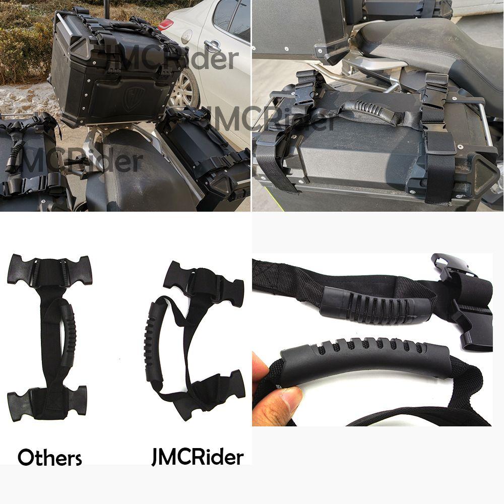 JMCRider Side handle Aluminum alloy side box For BMW R1200GS R1200 GS LC ADV ADVENTURE F700GS F800GS R1250GS 2018 MT-09 Tracer