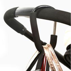 7 Colors Baby Stroller Accessories Hook Stroller Organizer Shopping Hooks Pram Hanger For Baby Car Buggy Accessoire Poussette