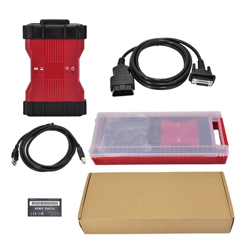 Professional VCM II 2 in 1 Auto car diagnostic Tool for FD IDS V106 and for Mazda IDS VCM 2 OBD2 code reader scanner