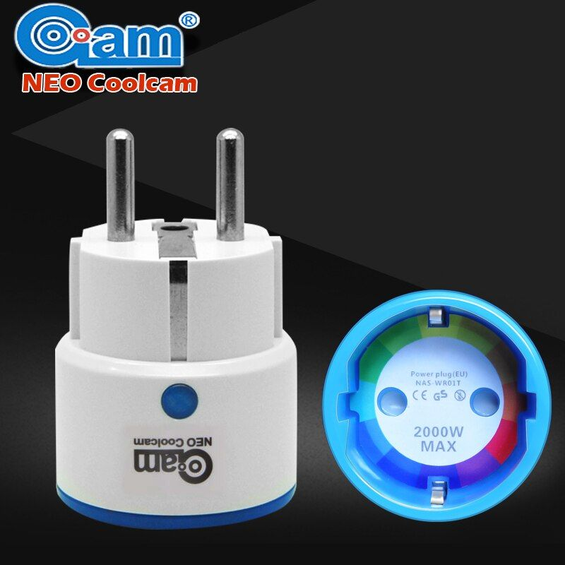 Home Automation Z wave Plus Sensor Smart Home EU Power Plug outlet Adapter Compatible with Z-wave 300 series and 500 series