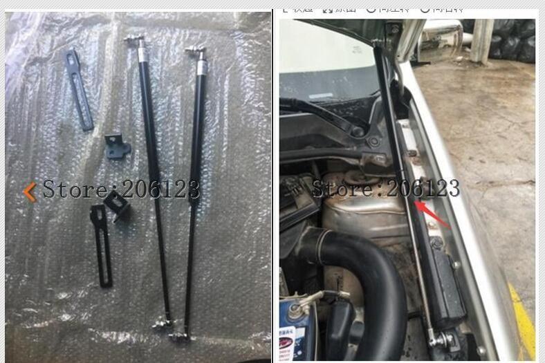 FIT FOR Nissan Qashqai  J10  2008 2009 2010 2011 2012 2013 ACCESSORIES CAR BONNET HOOD GAS SHOCK STRUT LIFT SUPPORT CAR STYLING