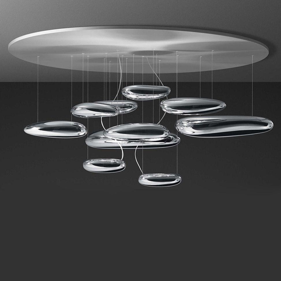 LED Postmodern Nodic Iron Glass Water Drop Chandelier Lighting LED Lamp LED Light For Foyer Bedroom Dinning Room