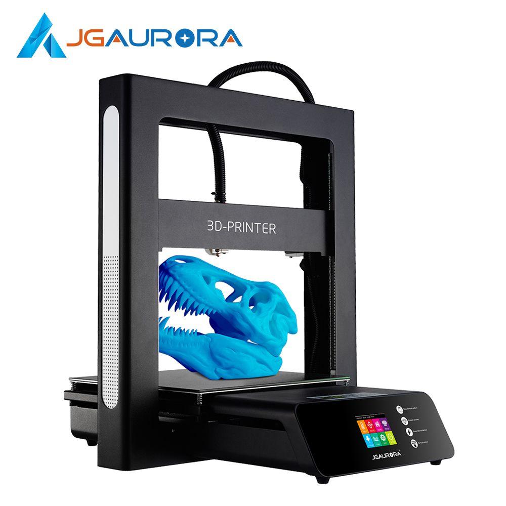 JGAURORA 3D Drucker A5 Aktualisiert 3D Druck Maschine Extreme Hohe Genauigkeit Drucker Maschine mit Große Bauen Größe von 305 * 305*320mm