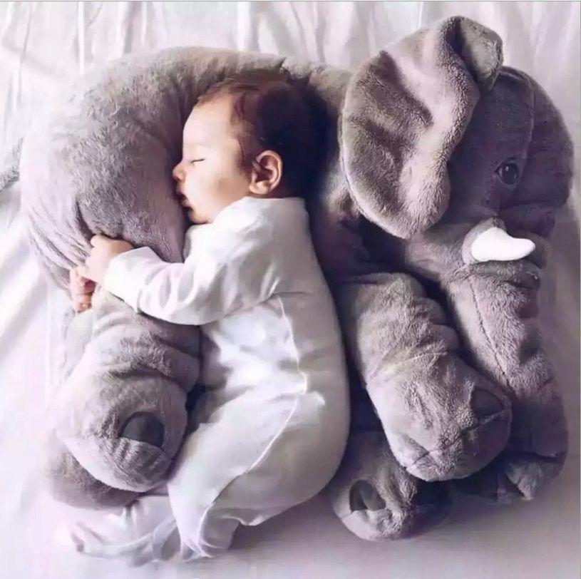 Elefanten Plüsch Stofftiere Plüschbabyspielzeug Anminal Große Größe beschwichtigen Baby Schlafen Kissen Cusion Baby Ruhig Puppe Kinder Weihnachten geschenk