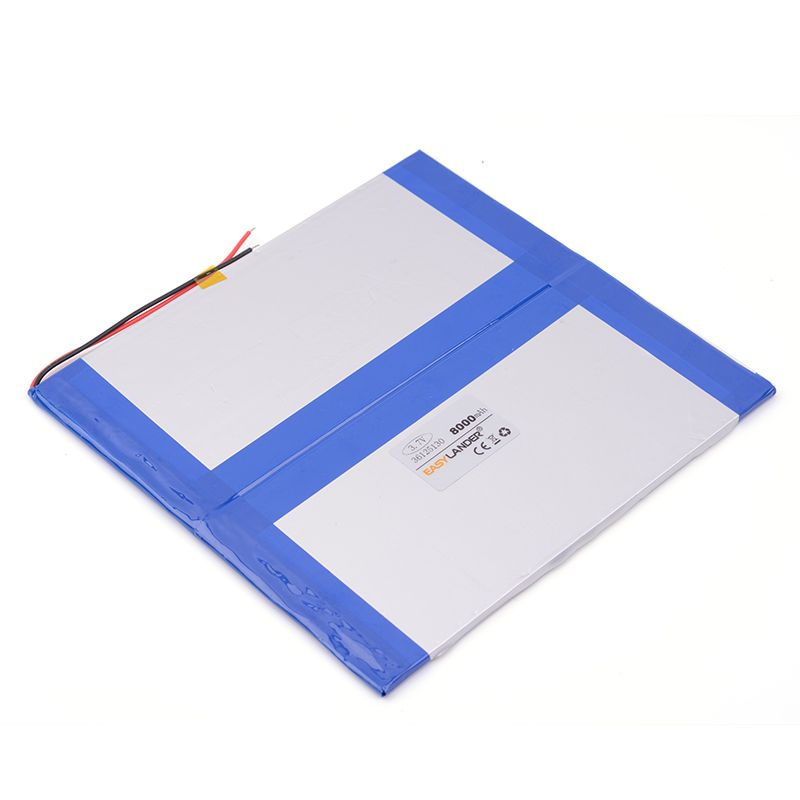 [L285] 3.7V 8000mAH 36125130  PLIB (polymer lithium ion battery / L G cell ) Li-ion battery for ,sanei,,ainol tablet pc