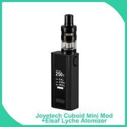 Big sale Original Joyetech Cuboid Mini + Eleaf lemo 2/Lyche DIY Full Kit 80W 2400mAh Builtin Battery 510 Thread Vape E-Cigarette