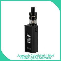 Big sale Original Joyetech Cuboid Mini with Eleaf Lemo2 / Lyche DIY Full Kit 80W 2400mAh Battery 510 Thread Vape E-Cigarette