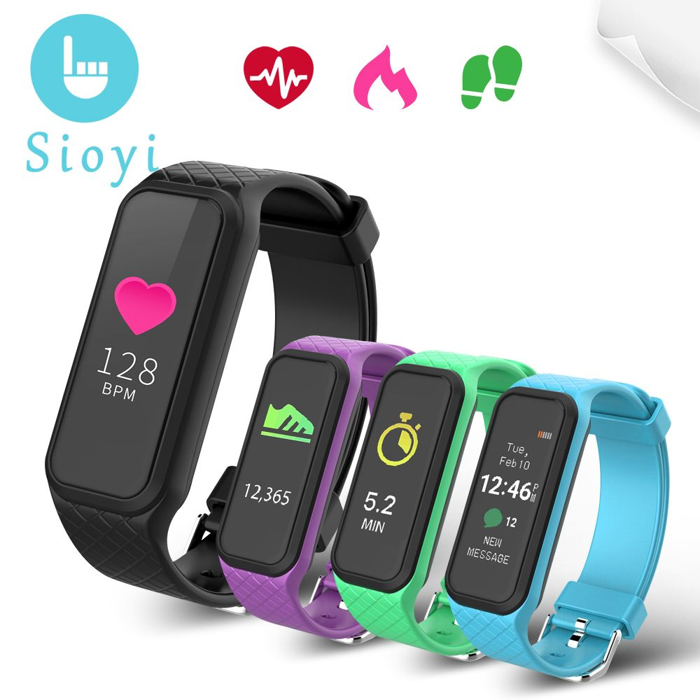 Women Bluetooth Smart Band L38i Bracelet Heart Rate Full Color Screen Pedometer Fitness Tracker Smart Watch For Android Iphone