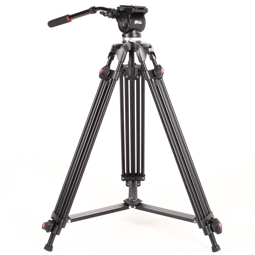 JIEYANG JY0508 JY-0508 5 KG Professionnel Trépied caméra trépied/Vidéo Trépied/Dslr VIDÉO Trépied Tête Fluide D'amortissement pour vidéo
