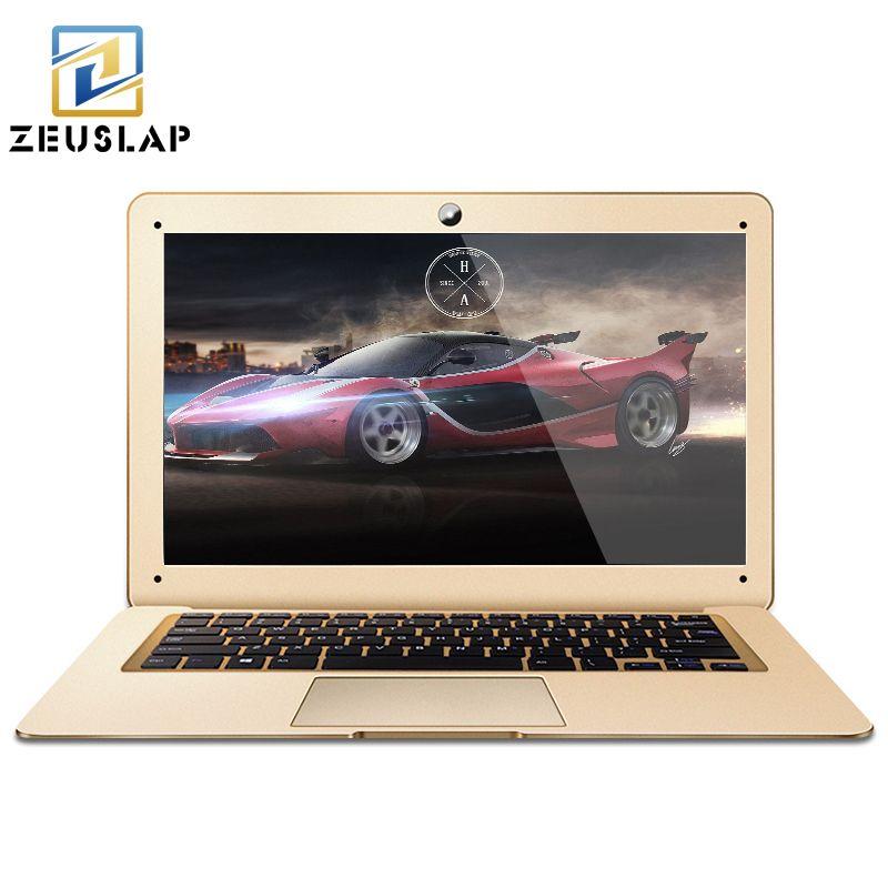 2017 neue 14 zoll 8 GB RAM + 500 GB HDD Windows 7/10 System Intel Quad Cores Russische Tastatur Laptop Notebook Kostenloser Versand