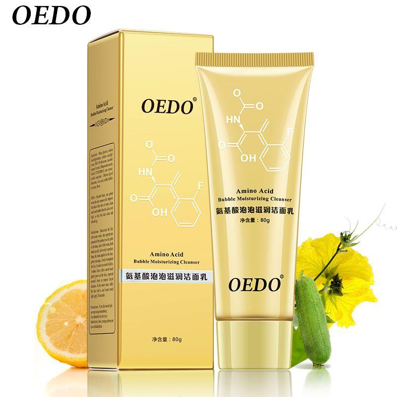 Aminosäure Blase Moisturizing Facial Porenreiniger Gesicht Waschen Produkt Gesicht Hautpflege Anti-aging-falten behandlung Reinigung