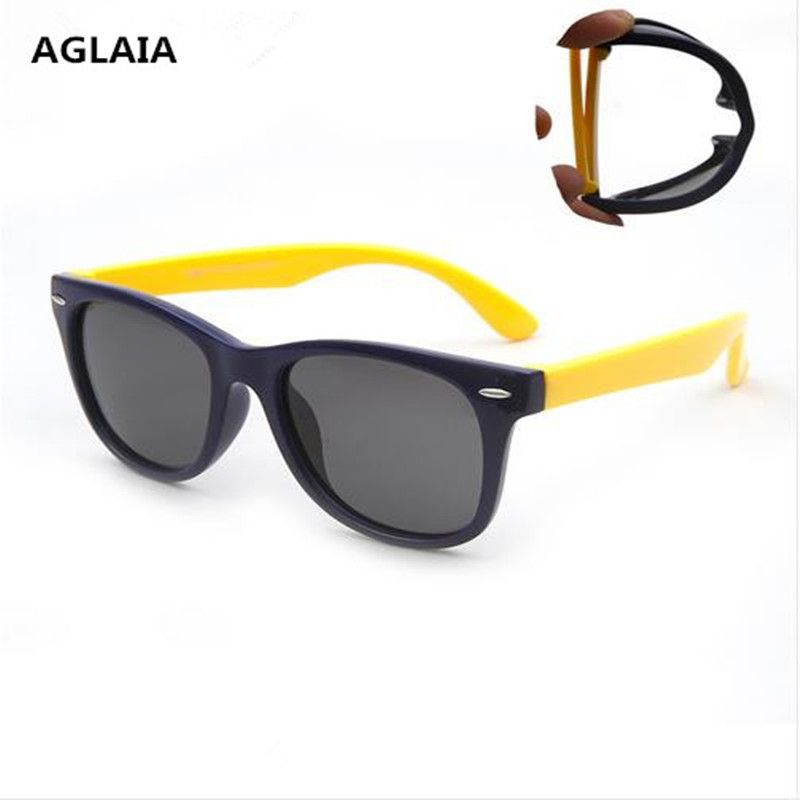 oculos Infant Baby Kids Sunglasses Polarized Child Safety Coating Glasses Polaroid Sun Glasses Fashion TR90 Shades