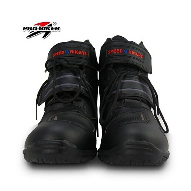 Pro biker SPEED Motorcycle Boots Moto Racing Street Riding Motocross Motorbike Shoes A005 3 colors size 38/39/40/41/42/43/44/45