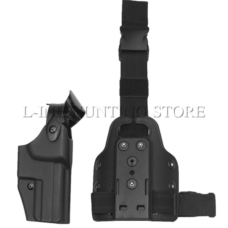 Airsoft Tactical Leg Holster HK USP Compact Pistol Thigh Holster Pouch Bag For Hunting Outdoor Wargame