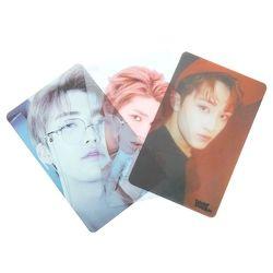 7/8/9 Pcs/Set NCT U 127 BOSS Album Self-made PVC TAEYONG MARK Lomo Cards Photocard Kpop Transparent Photo Card