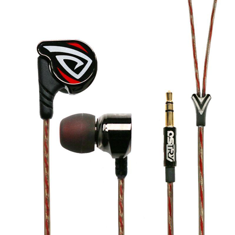 OSTRY KC06A KC 06A ( +OS100 OS200 OS300 ) Dynamic HIFI In-Ear Earphone Process of Vacuum Coating