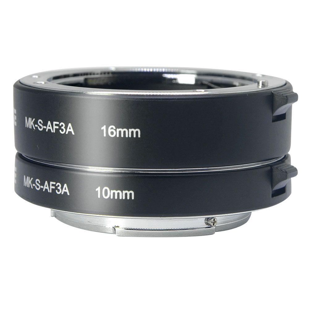 Meike Auto Focus Macro Extension Tube Adapter Ring für Sony E mount NEX3 NEX-5 NEX-7 NEX-6 A7 A7II A7III A6000 a6300 A6400